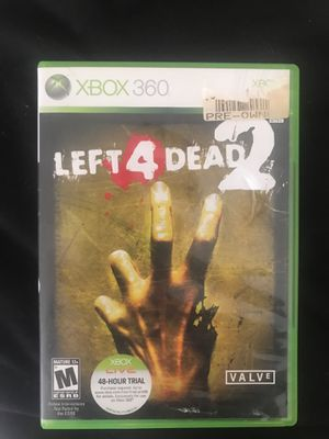 Left 4 dead 2 Xbox 360 game for Sale in Lowell, MA