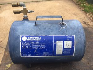 5 gal Campbell Air Holding Tank for Sale in Conroe, TX