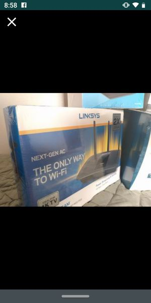 LINKSYS MAX-STREAM!! BEST PRICE AND LOCAL PICK UP!!, NO TAX!! for Sale in Perris, CA