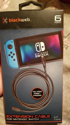 Nintendo switch extension cable for Sale in Houston, TX
