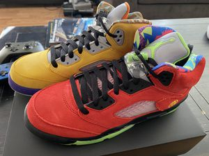 "Jordan 5 Retro ""What The"" 7Y for Sale in Rowland Heights, CA"