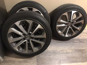 Honda Accord rims & tires. $400 for Sale in Baltimore, MD