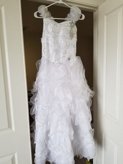 White Dress, Holy Communion/baptism/special Occasion for Sale in Laveen Village,  AZ