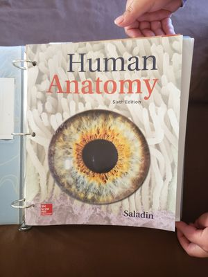 Human anatomy text book for Sale in Salinas, CA