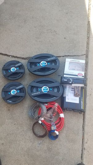 Complete stereo system with amp for Sale in Denver, CO