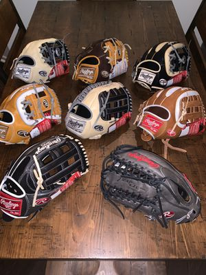 Rawlings Heart of the Hide NWT (Price is PER Glove) for Sale in Bedford Park, IL