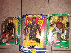 $35.00 FOR ALL 3 G.I. JOE COLLECTION ACTION FIGURES for Sale in Phoenix, AZ