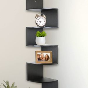 5 Tier Wall Mount Corner Shelves, Home Decor Hanging Shelves for Sale in Corona, CA