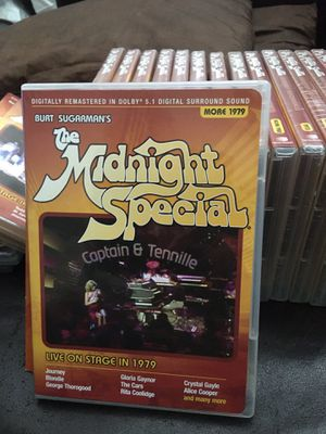 NEW VHTF! BURT SUGARMAN'S THE MIDNIGHT SPECIAL 19DVD SET 1973-1980 COMPLETE OOP for Sale in Stockton, CA