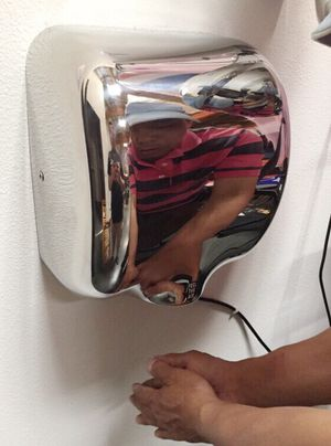 New in box commerical grade restaurant quality chrome automatic hand dryer energy efficient fast drying for Sale in Los Angeles, CA