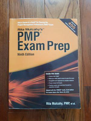 Rita Mulcahy PMP Exam Prep for Sale in Gaithersburg, MD
