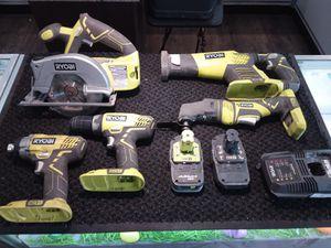 Ryobi 5-Tool Set for Sale in Laredo, TX