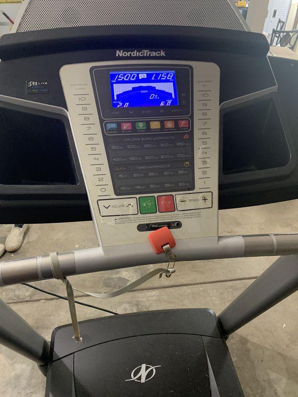 Nordictrack 5.5 treadmill