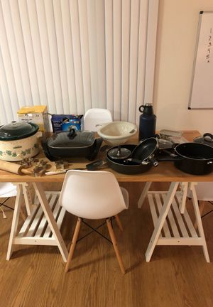 Kitchen pots, pans, and other items for Sale in Bethesda, MD