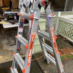 Little Giant Mega Light Aluminum Extension Ladder for Sale in Lynnwood, WA