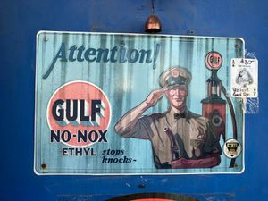 Gulf Sign for Sale in Jarrell, TX