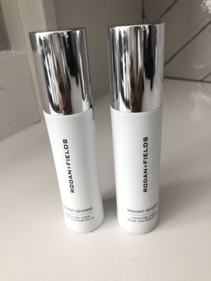 Rodan and Fields Radiant Defense Liquid SPF 30 - ALMOND and ESPRESSO for Sale in Plano, TX