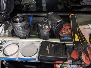 Nikon D3200 with accessories for Sale in Richmond, VA
