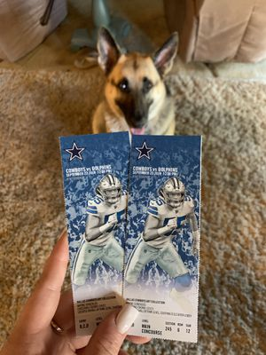 Cowboys v Dolphins - 9/22 @ 12:00 for Sale in Dallas, TX