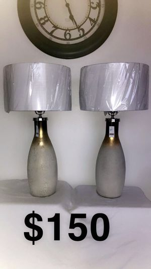 Matching brand new lamps for Sale in Chicago, IL