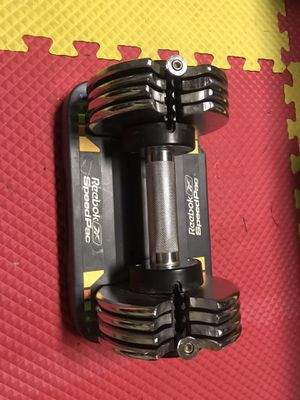 Adjustable dumbbell 25 Lbs ( single ) for Sale in Centreville, VA