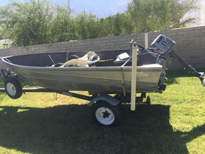 Valco Aluminum boat & trailer . for Sale in Costa Mesa, CA