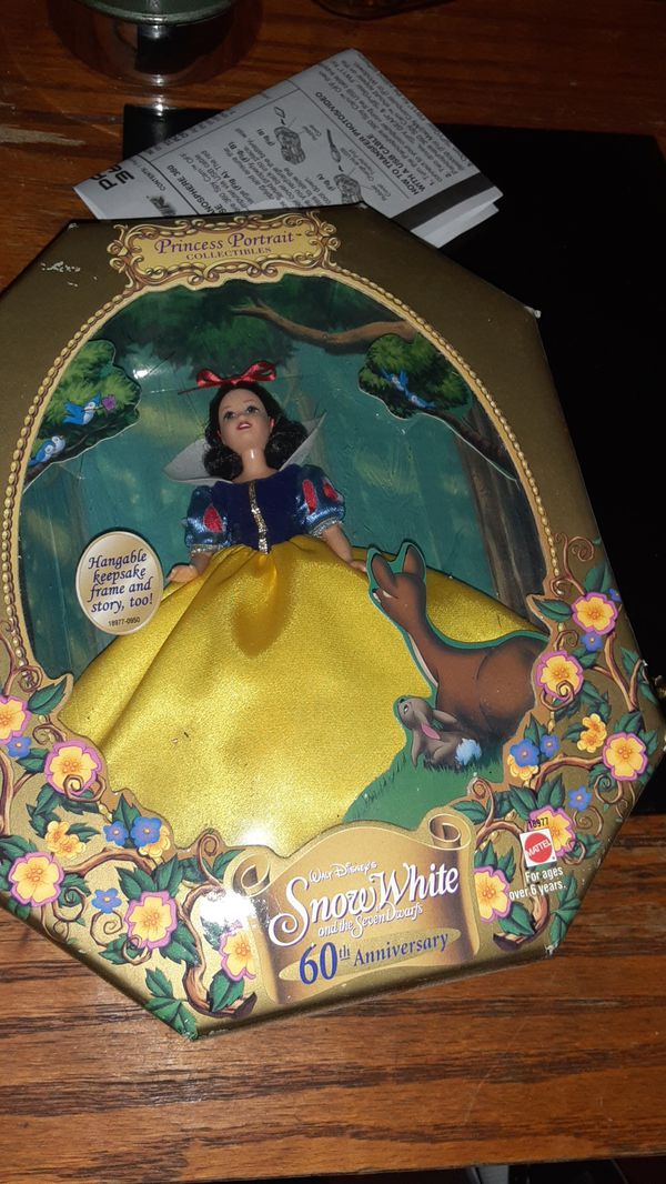 Princess collectors Snow White and Seven Dwarfs 60th anniversary from 1998