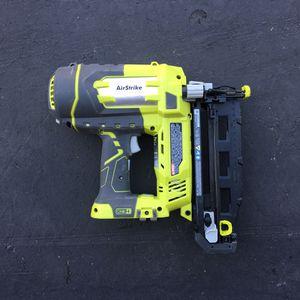 Ryobi 16 gauge nail gun - cordless battery for Sale in Garden Grove, CA