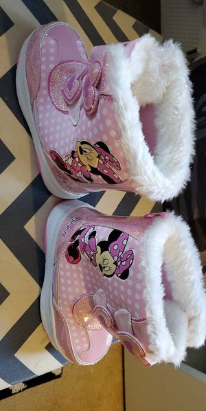 Mini mouse girl boot size 12 for Sale in Peabody, MA