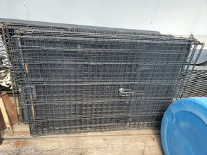 Big dog cages double locks for Sale in Cedar Hill, TX