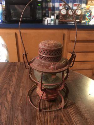 Antique Baltimore and Ohio Railroad Lantern W/ B&O RR Globe for Sale for sale  Virginia Beach, VA