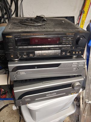 Teac, surround theater head unit for Sale in Toledo, OH