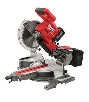 Milwaukee 10 in. Dual Bevel Sliding Miter Saw Kit for Sale in Pleasant Hill, CA