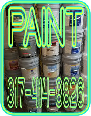 PAINT EXTERIOR PAINT IN 5 GALLON BUCKETS for Sale in Indianapolis, IN