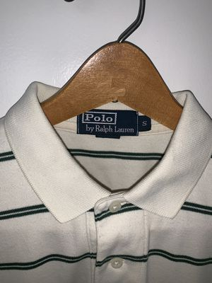 Men's Ralph Lauren Polo shirt. Size: S, Color: Green & White, Design: Polo Rugby for Sale in Silver Spring, MD