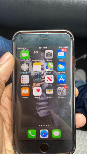 iPhone 7 locked by carrier for Sale in Capitol Heights, MD