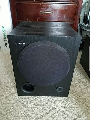Sony subwoofer speaker for Sale in San Francisco, CA