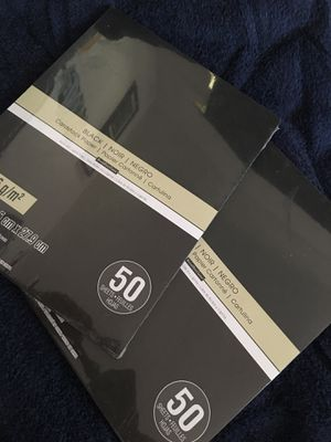 Black card stock paper for Sale in Los Angeles, CA