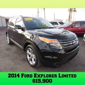 2014 Ford Explorer Limited for Sale in Glendale, AZ