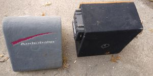 pair of speakers a pioneer and an audiobahn amplifier kenwood for Sale in Saint Charles, MO