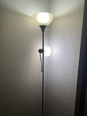 Floor lamp with reading light for Sale in Bellevue, WA