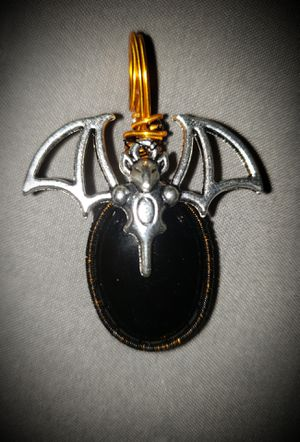 Black Onyx Halloween Pendant for Sale in North Salt Lake, UT
