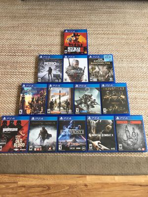 PS4 Games for Sale in Kailua, HI