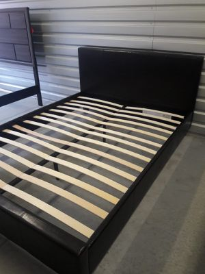 NEW FULL SIZE BED FRAME MATTRESS SOLD SEPERATELY AVAILABLE FOR DELIVERY for Sale in Miami, FL