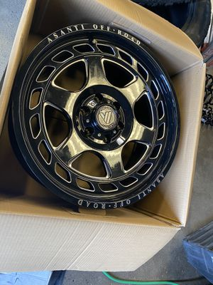 Asanti wheels for Sale in Westminster, CA