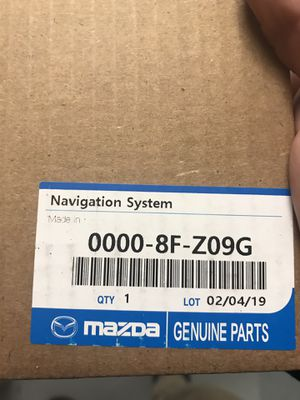 Mazda Navigation SD card and Misc Mazda Accessory for Sale in Dracut, MA