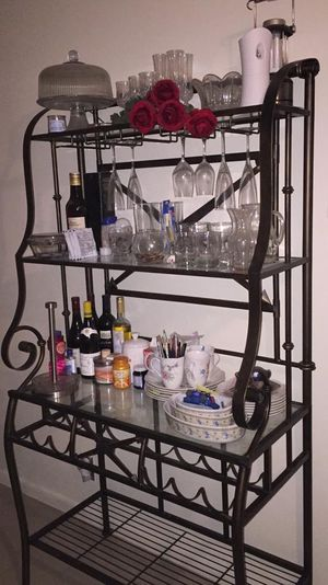 Hold wines bottles and dishes. give a price to negotiate for Sale in Pompano Beach, FL