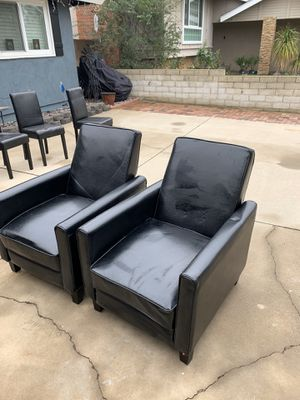 Leather recliners for Sale in Fountain Valley, CA