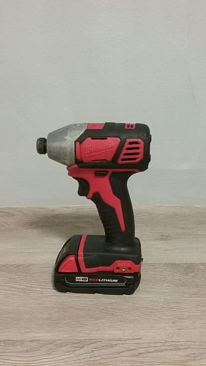 Milwaukee M 18 Red Lithium for Sale in Fort Lauderdale, FL