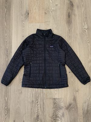 Patagonia Women's Down Jacket - Size XL - Black for Sale in Rancho Santa Fe, CA